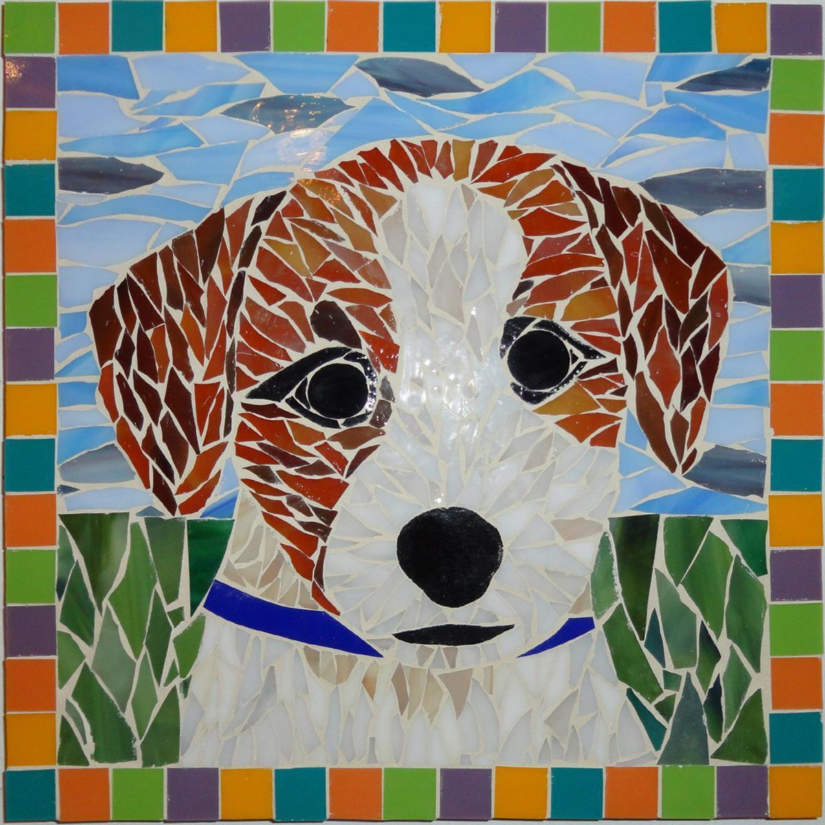 Pet mosaic class project example.
