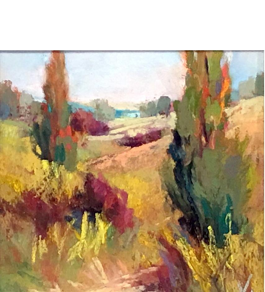 Virginia Dauth_pastel artist_American artist_landscape artist_southern artist_mountain paintings_floral paintings_
