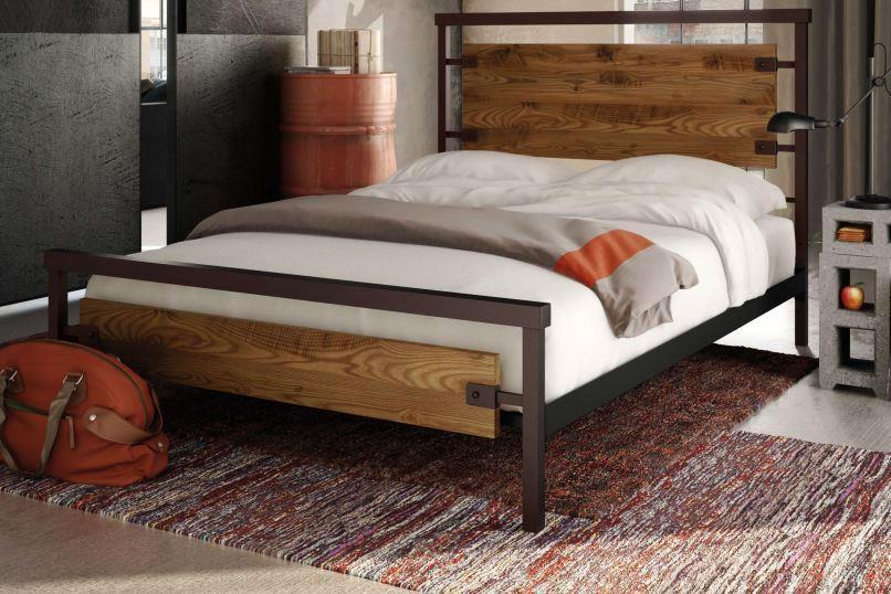 Kootenai Moon Furniture Bedroom Metal Bed Frame Wood And Look