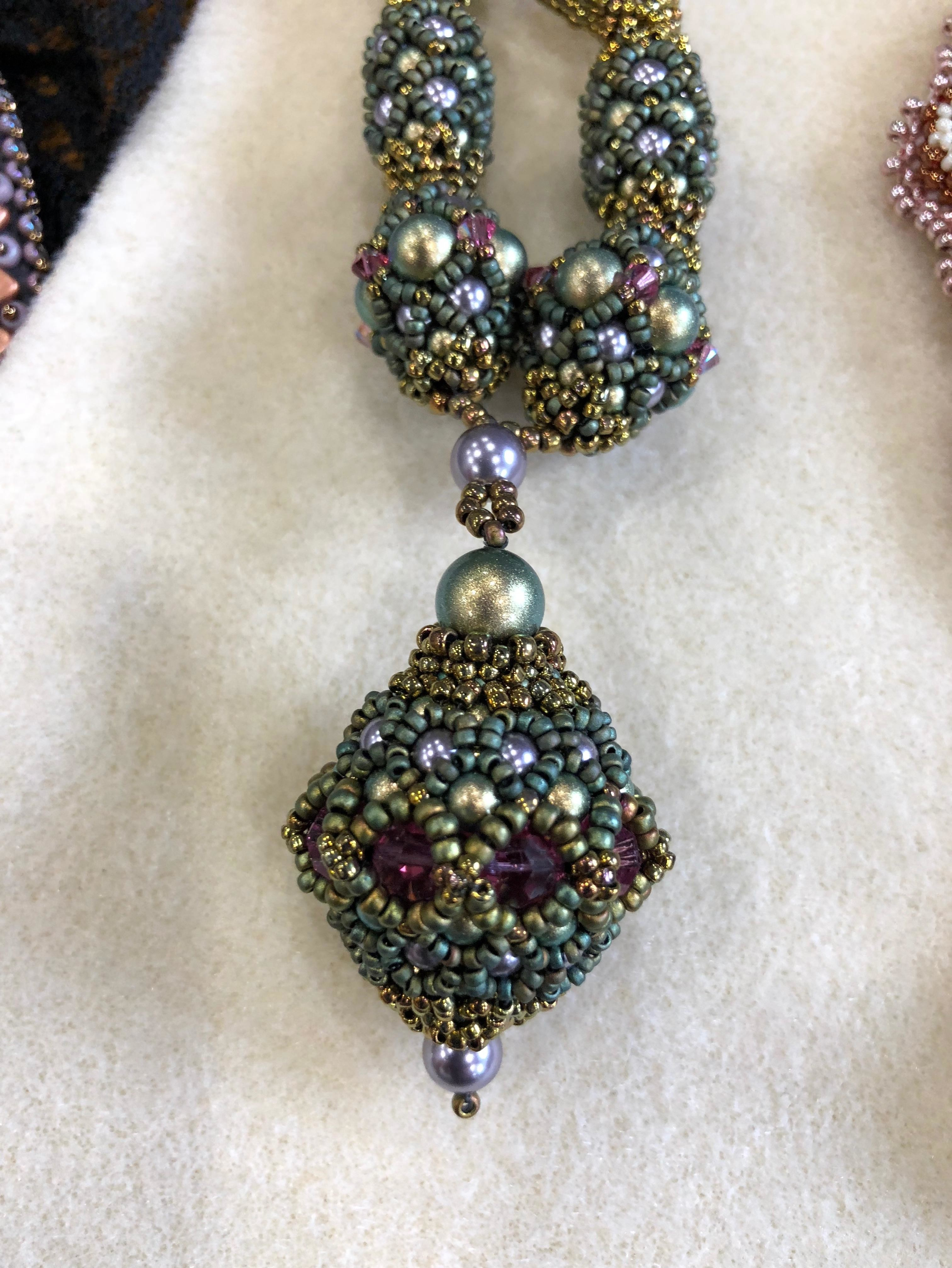 Serpentine Woven Earrings
