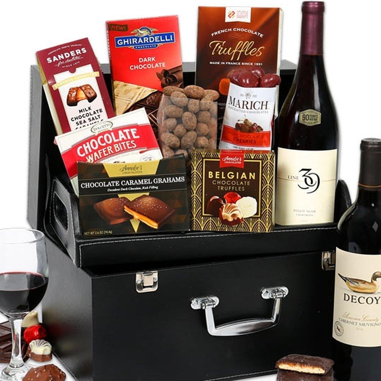 Chocolate Duet Gourmet Gift Basket