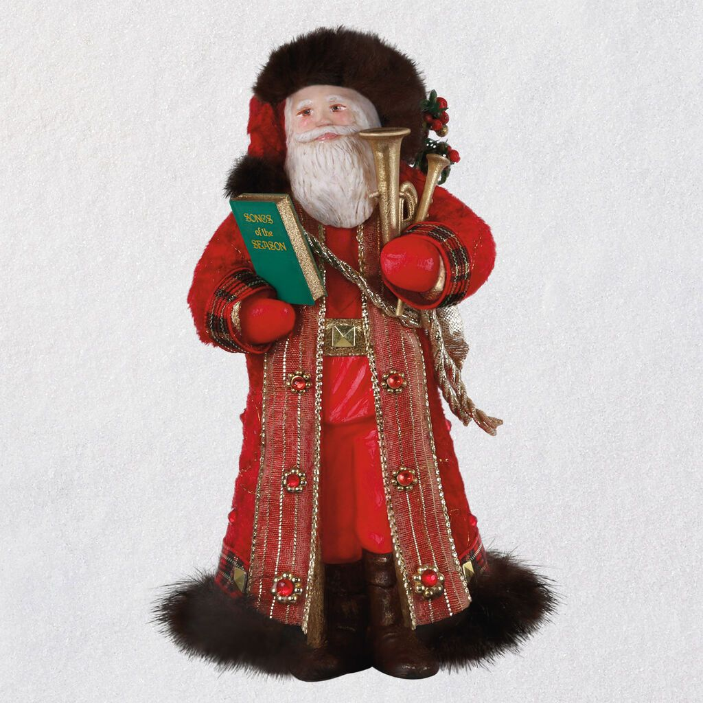 Halmark Father Christmas 2020 Father Christmas Ornament Available July 11, 2020 | Feeney's