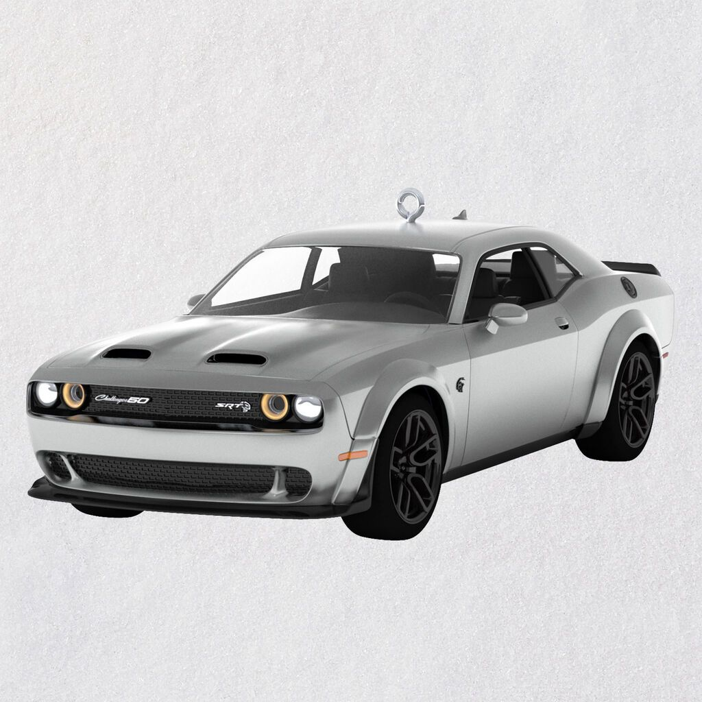Christmas 2020 Challenger 2020 Dodge Challenger SRT® Hellcat Redeye Metal Ornament Available