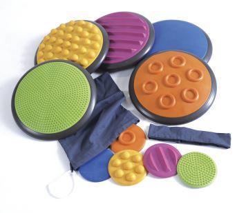 Tactile Discs, Set of 5