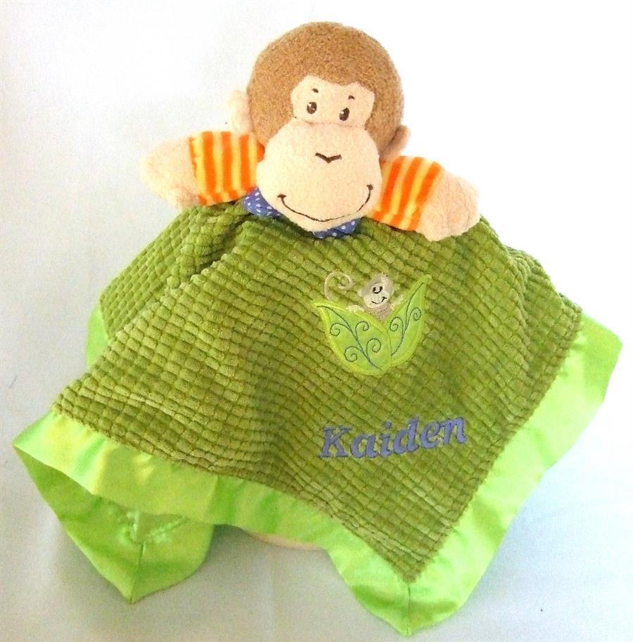 Mango Monkey snuggie blanket
