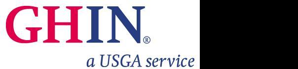 GHIN logo golf Golf Handicap and Information Network