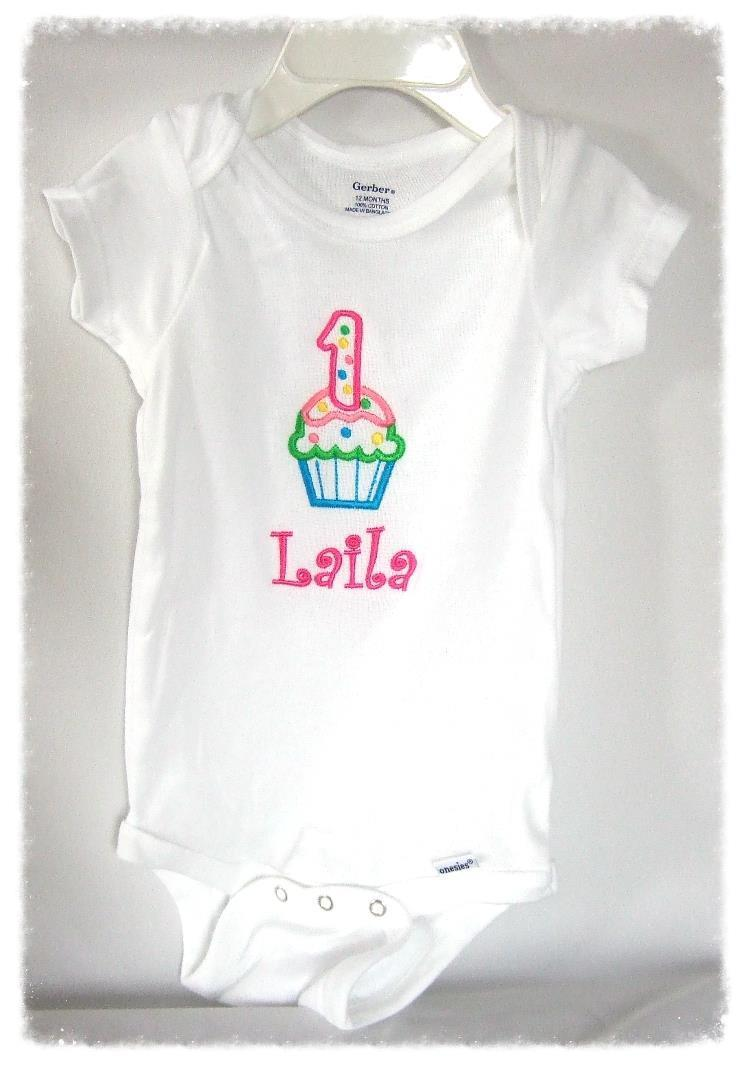 Baby one piece personalized