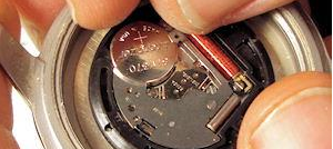 watch repair, battery replacement, band shortening,