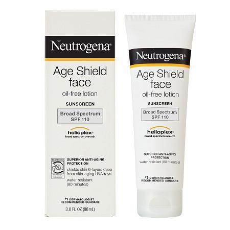 Neutrogena Age Shield Face, Sunscreen Lotion, SPF 110