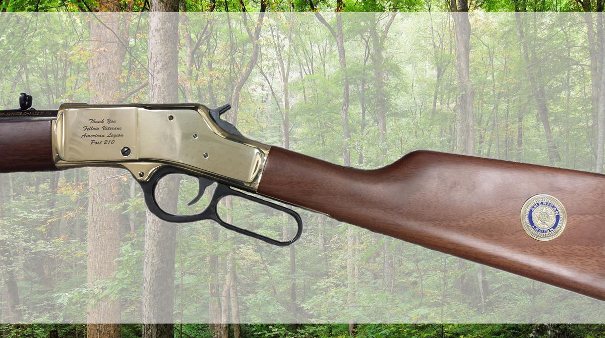 Henry rifle engraving