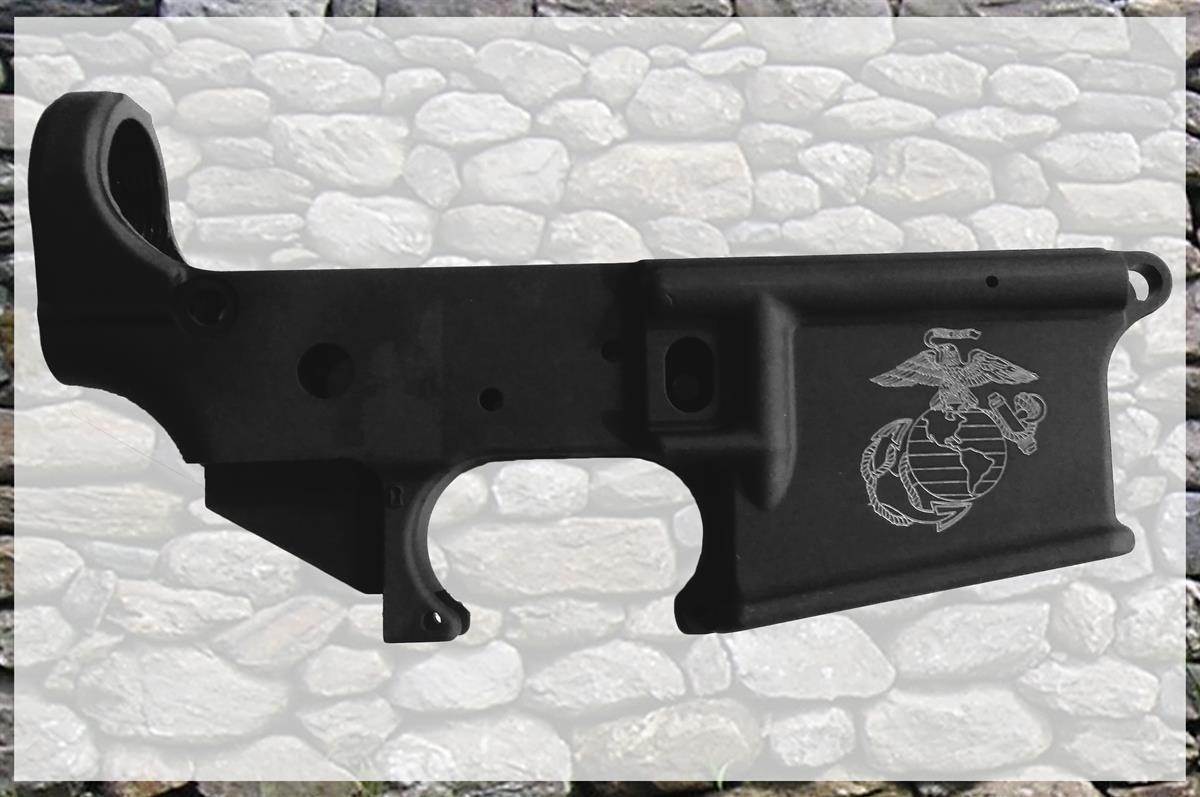AR Lower gun engraving