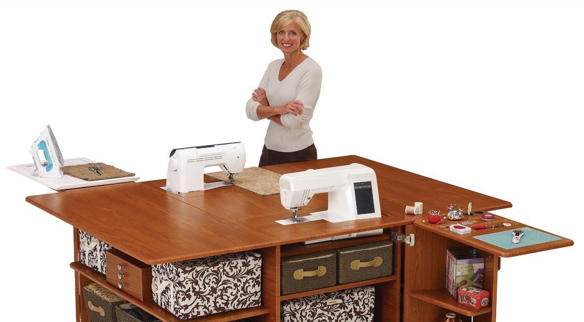 Furniture frank 39 s sewing center for Arrange a room planner