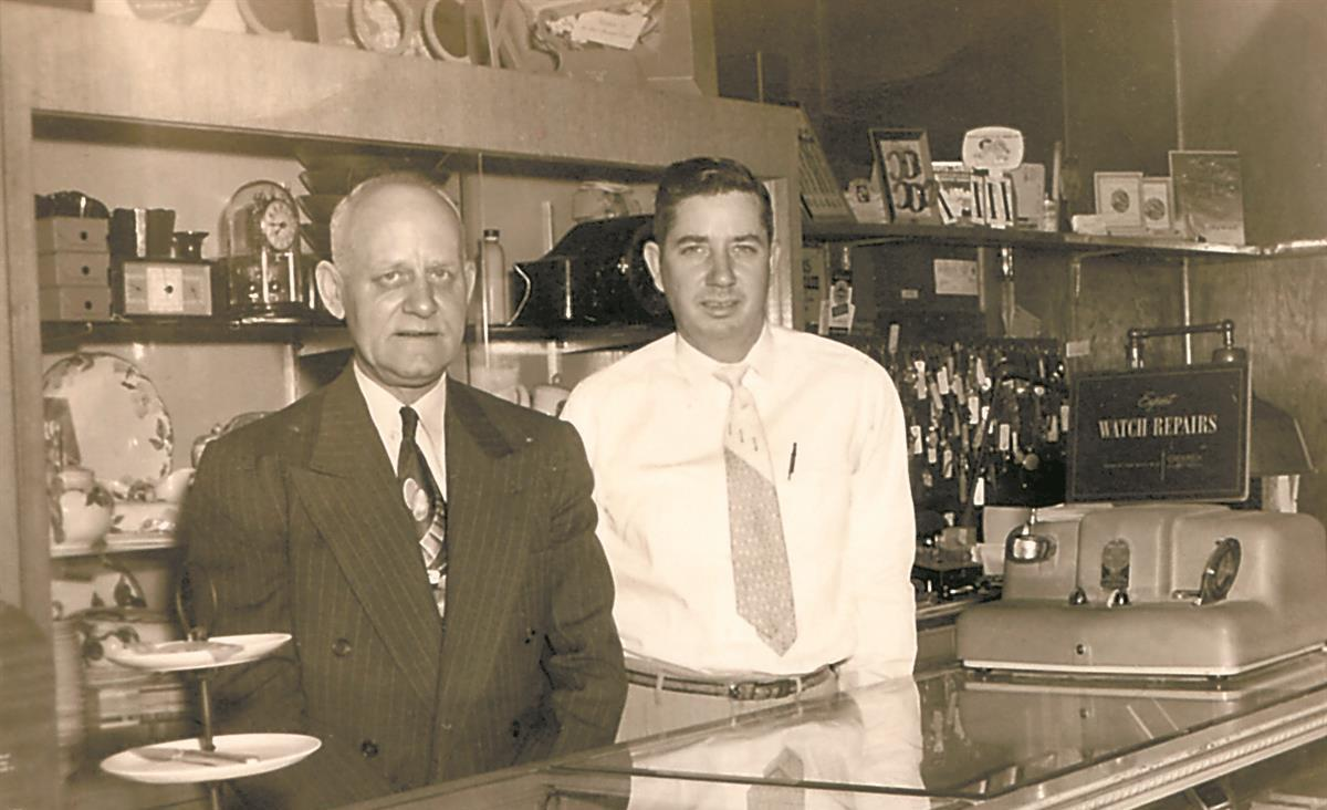 Alby Gay with Harry Fenster in Yuma, CO