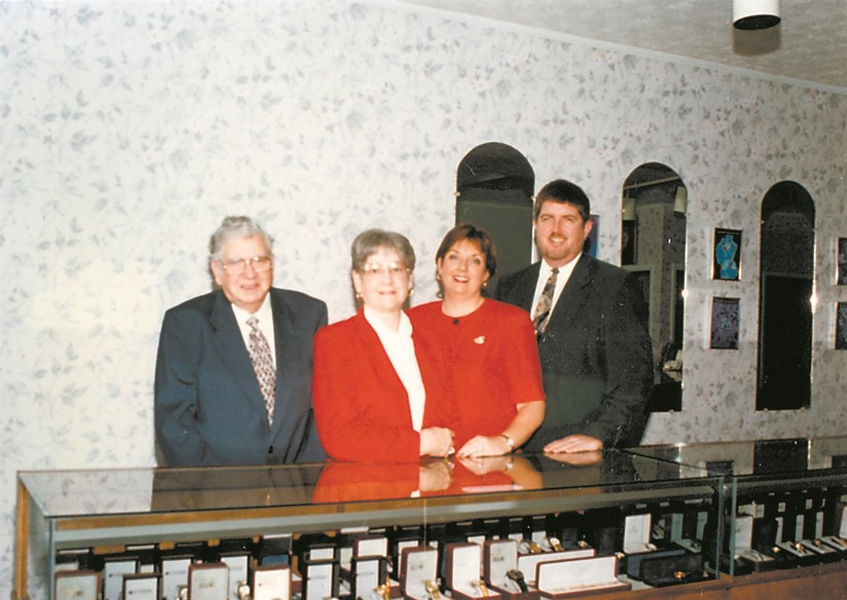 Alby and Glenrose Gay with Earl and Kathy Butler