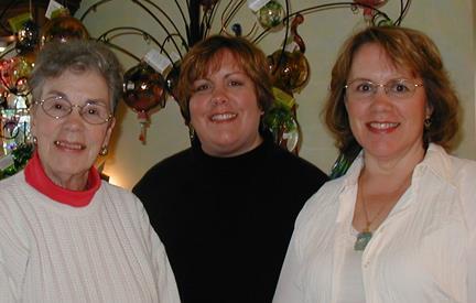 Store owners Joanne Bishop, Julie Bishop Day and Jean Dryden