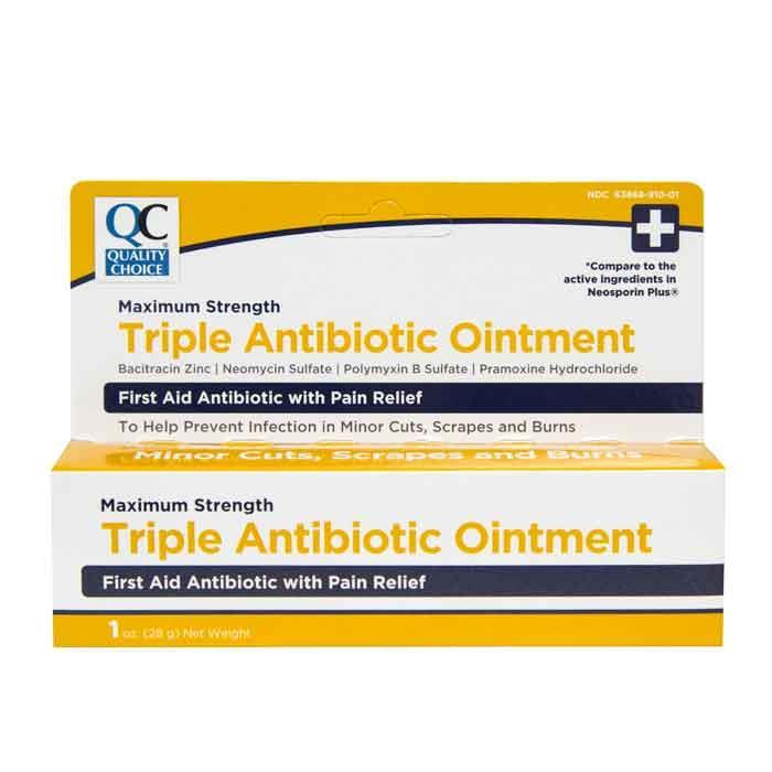 QC Triple Antibiotic Ointment