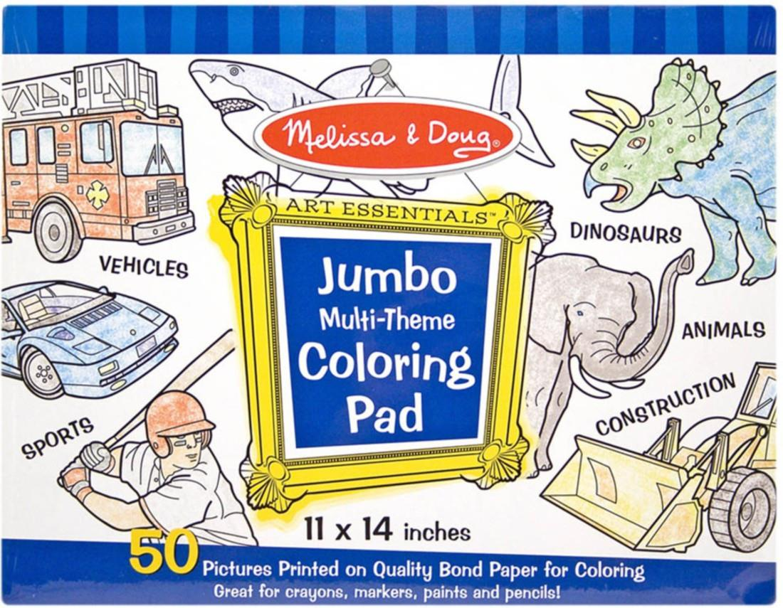 Melissa & Doug Jumbo Coloring Book