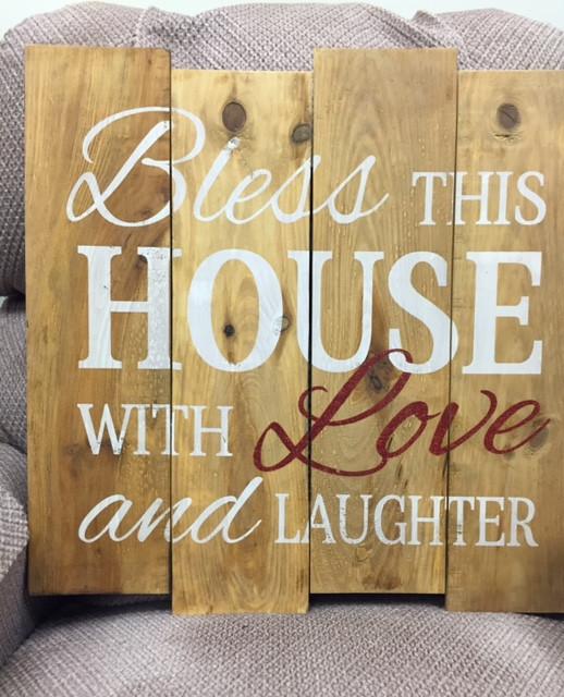 Magnificent Bless This House Wall Art Photos - Wall Art Design ...