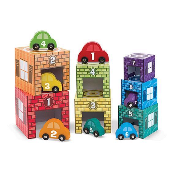 Nesting & Sorting: Garages & Cars