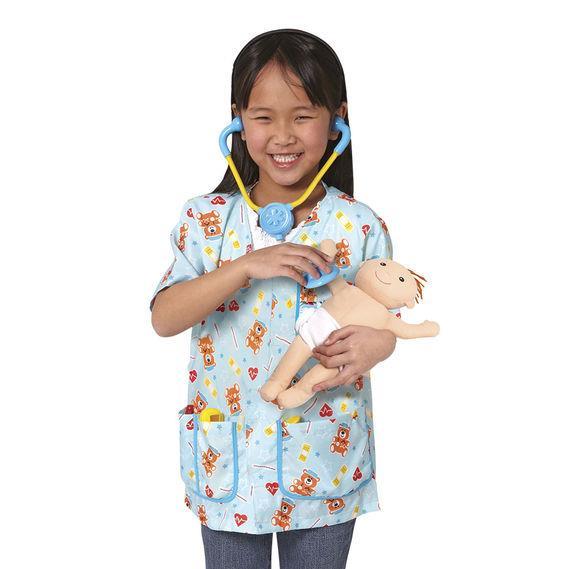 Pediatric Nurse Role Play Costume Set