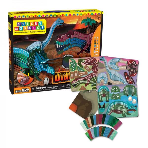 Sticky Mosaics® - Dinosaurs