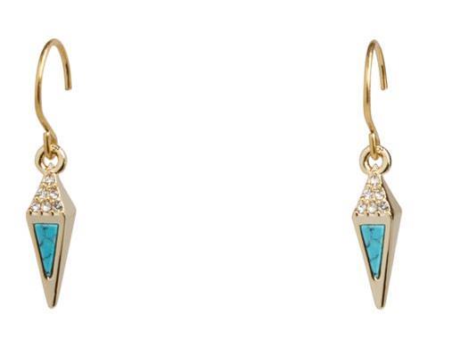 Triangle Small Drop Earrings  #21999236082