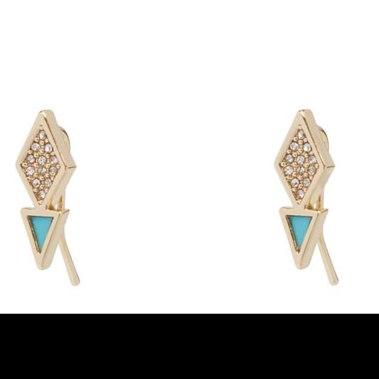 Triangle Stud Earrings  #22000236082