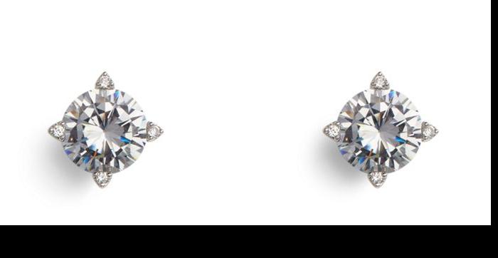 Sparkling Stud Earrings  #22345237958