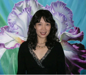 flowers, flower artist, Si, Iris painter,