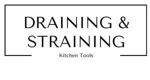 Draining and Straining Kitchen Tools at Gifts and Gadgets