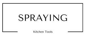 Spraying Kitchen Tools at Gifts and Gadgets