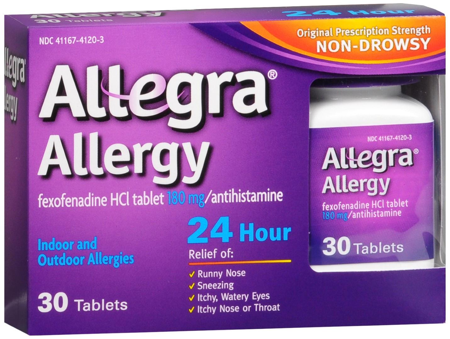 Fexofenadine hcl 180 mg 24 hour.doc - Allegra Allergy 180 Mg Tablets 24 Hour