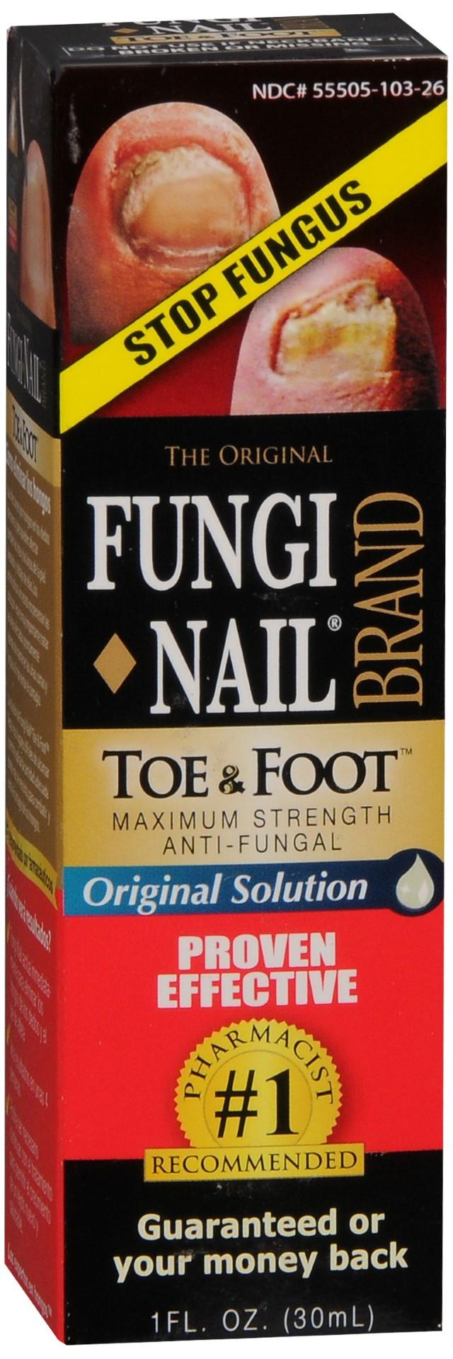 Fungi-Nail Toe & Foot Original Solution | Asti\'s South Hills Pharmacy