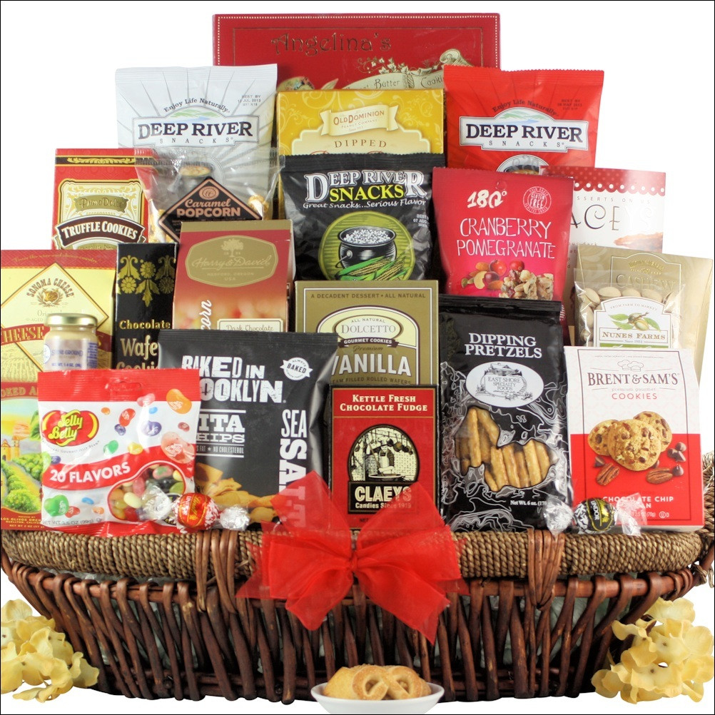 Snack attack extra large gourmet gift basket basketfull gift baskets snack attack extra large gourmet gift basket negle Gallery