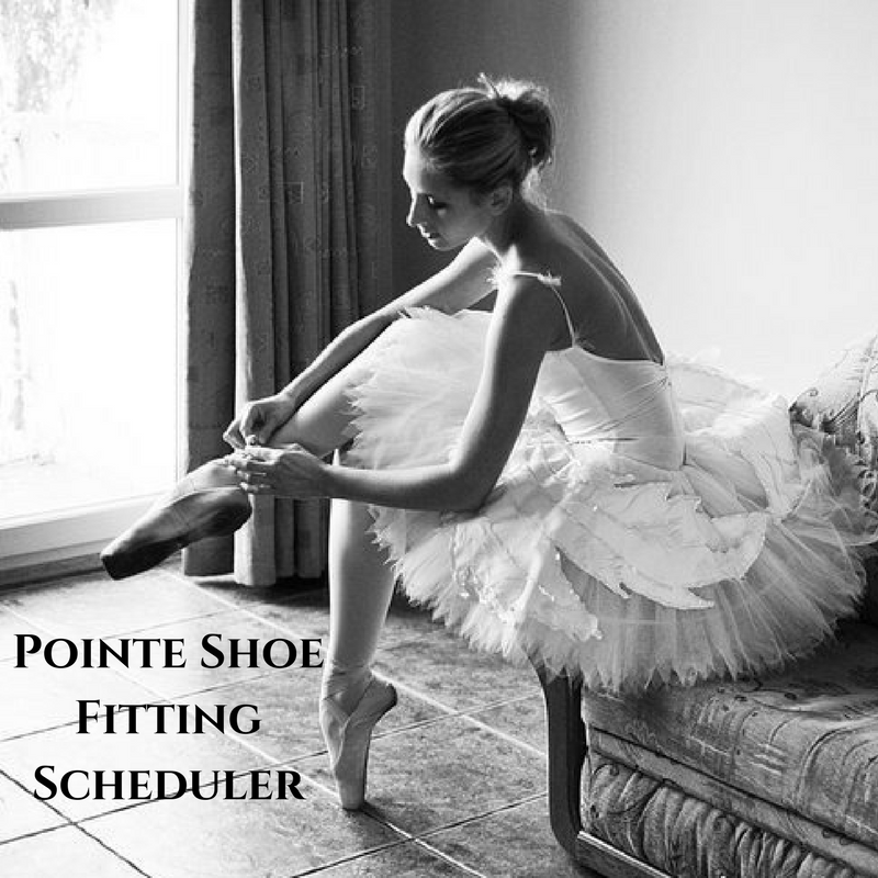 Pointe Shoe Fitting Scheduler - Jete Dancewear