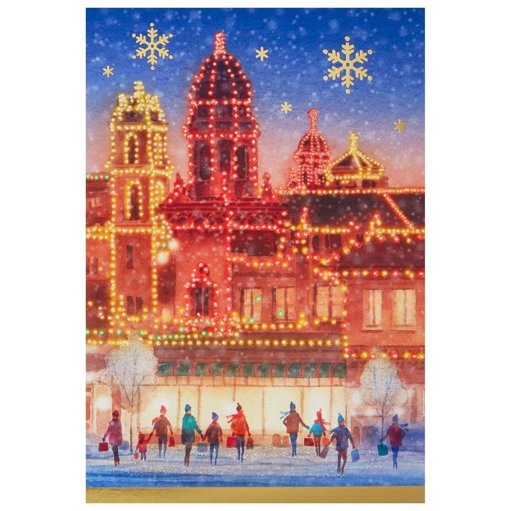 Kansas City Country Club Plaza Christmas Cards, Box of 16 | Feeney\'s ...