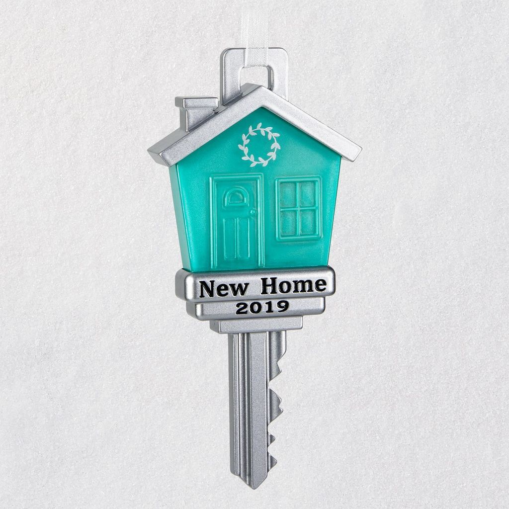 First Christmas In Our New Home 2019.New Home 2019 Metal Ornament