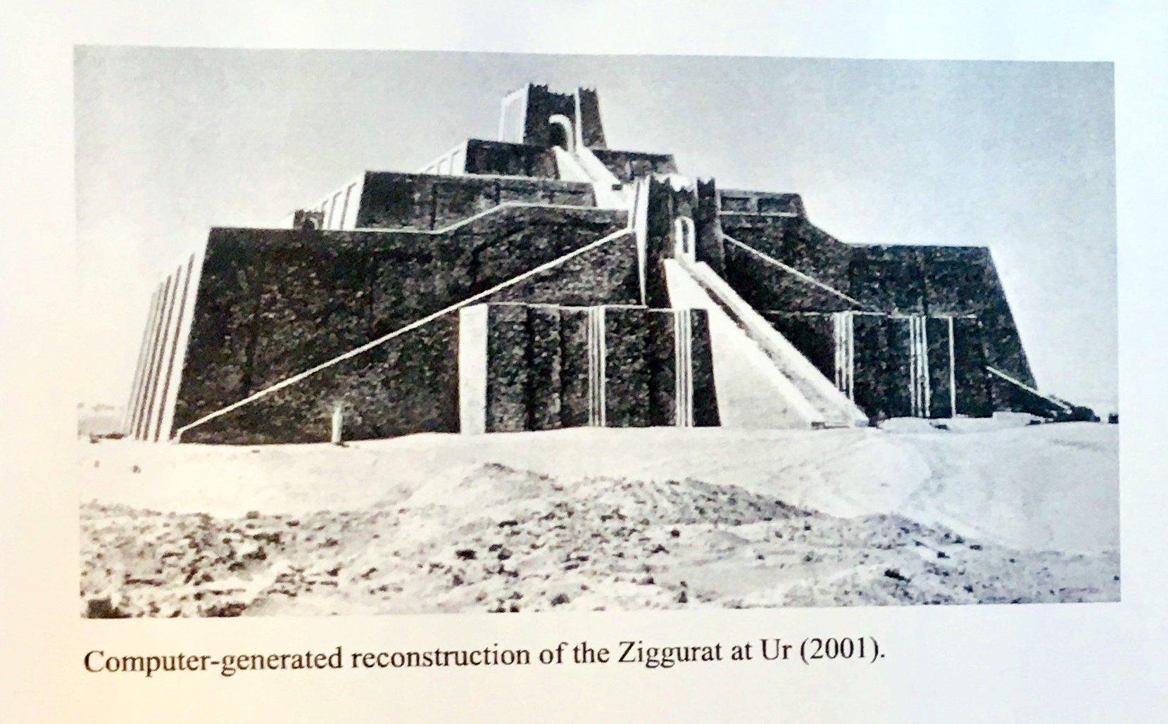 A    The Ziggurat At Ur   Bella Arte Gallery